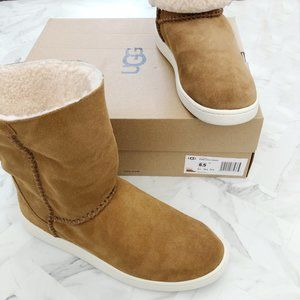 NWT UGG Mika Classic Sneakers Chestnut Size 8.5